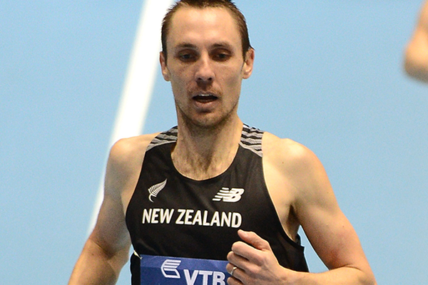 Nick Willis in the 1500m at the IAAF World Indoor Championships (Getty Images)