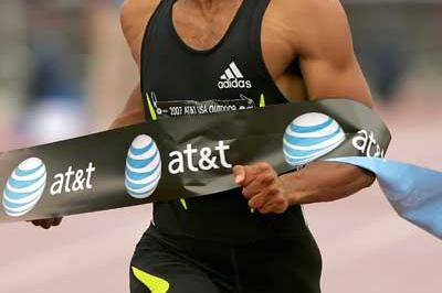 Tyson Gay wins the 200m at the US champs in 19.62 seconds (Getty Images)