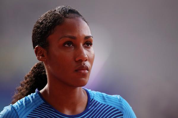 Ajee Wilson at the IAAF World Athletics Championships Doha 2019 (Getty Images)