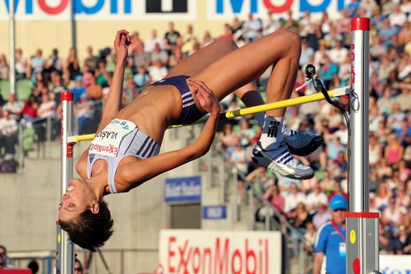 Blanka Vlasic, the winner at the Oslo Diamond League (Mark Shearman)