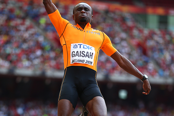 Ignisious Gaisah in the long jump at the IAAF World Championships Beijing 2015 (Getty Images)