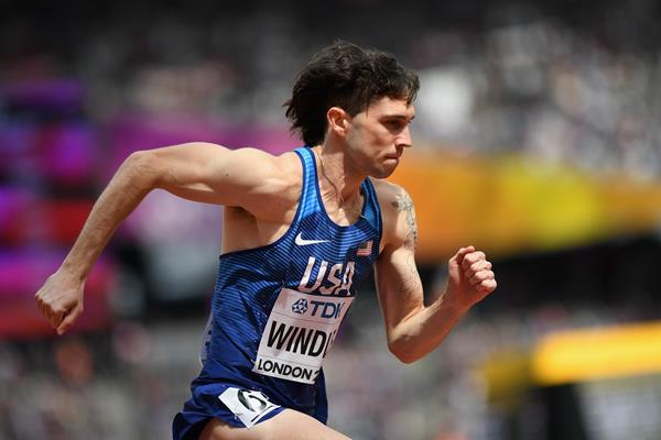 Drew Windle in the 800m at the IAAF World Championships London 2017 (Getty Images)