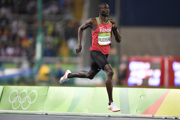 David Rudisha in the Rio 2016 Olympic Games 800m semi-finals (Getty Images)