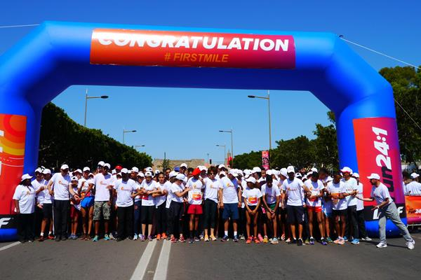 Run 24-1 in Rabat for the second time (Organisers)