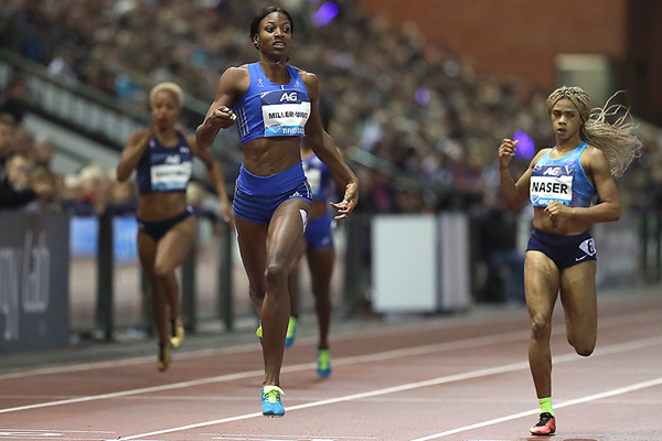 Shaunae Miller-Uibo wins the 400m at the IAAF Diamond League final in Brussels (Giancarlo Colombo)