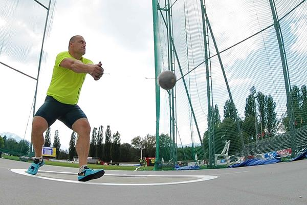 Kristzian Pars at the 2014 Rieti IAAF World Challenge meeting (organisers)