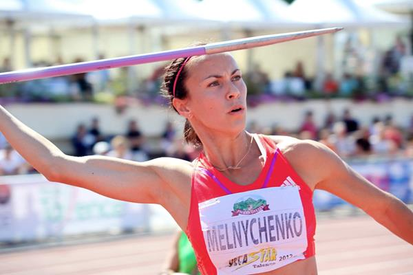Ukraine's Hanna Melnychenko at the 2012 Decastar meeting in Talence (Jacques Lavie)