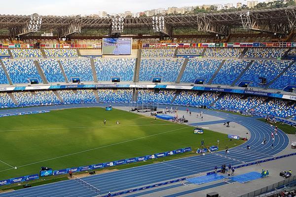 San Paolo Stadium in Naples (GaeC86 / WikiCommons)