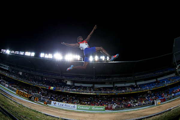 Maykel Masso at the IAAF World Youth Championships Cali 2015 (Getty Images)