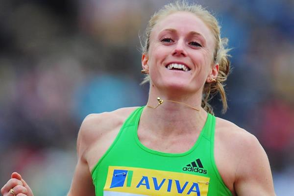 Sally Pearson wins in London (Getty Images)