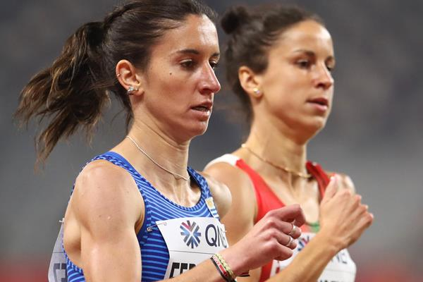 Uruguayan middle distance runner Maria Pia Fernandez (Getty Images)