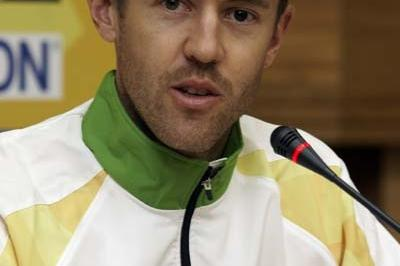 Luke Adams of Australia during the Press Conference (Getty Images)