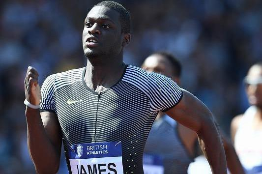 Kirani James wins the 400m at the IAAF Diamond League meeting in Birmingham (Jean-Pierre Durand)