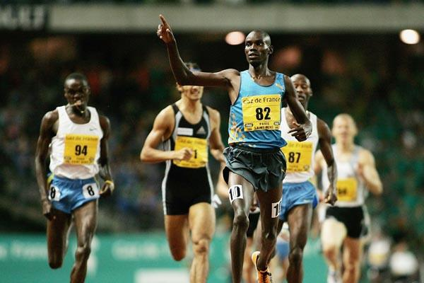 Daniel Kipchirchir Komen wins the 1500m at the Paris Golden League meeting (Getty Images)