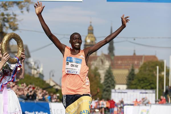 Raymond Choge, 2018 Kosice Peace Marathon winner (Organisers)