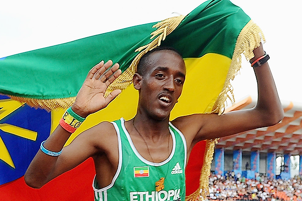 Ethiopian distance runner Mogos Tuemay (Getty Images)