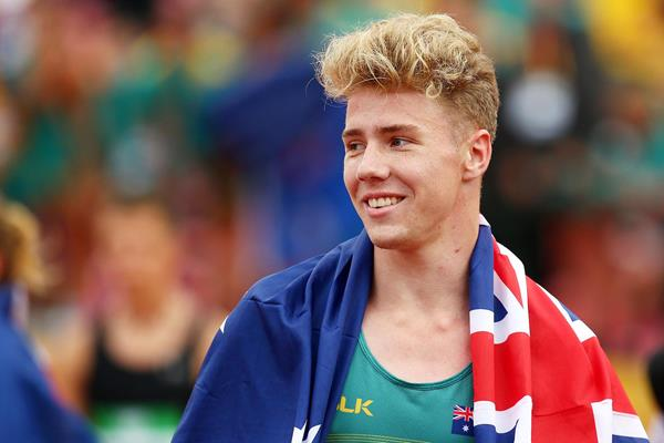 Australian decathlete Ashley Moloney (Getty Images)