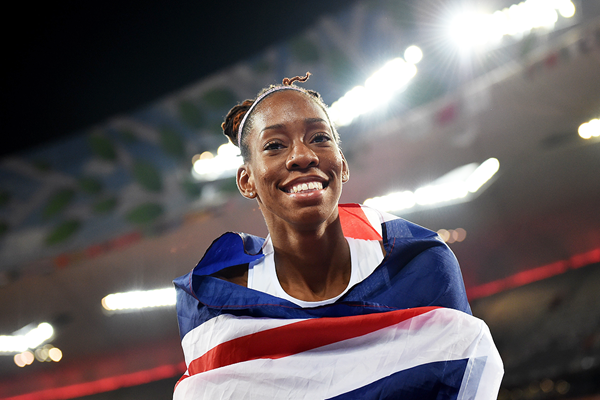 British long jumper Shara Proctor at the IAAF World Championships Beijing 2015 (AFP / Getty Images)