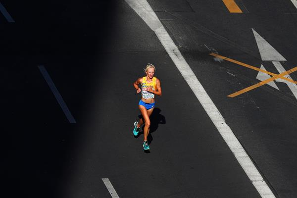 Ukrainian distance runner Viktoriya Khapilina (Getty Images)