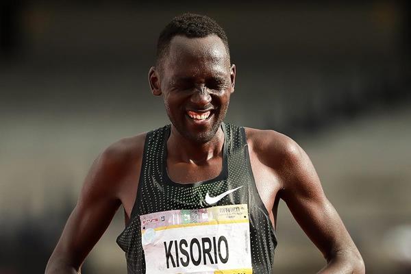 Kenyan marathon runner Mathew Kisorio (Getty Images)