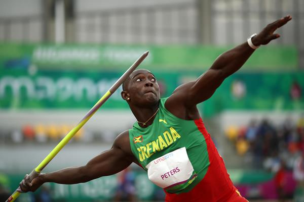 Anderson Peters breaks the Pan-American Games javelin throw record in the Lima (Getty Images)