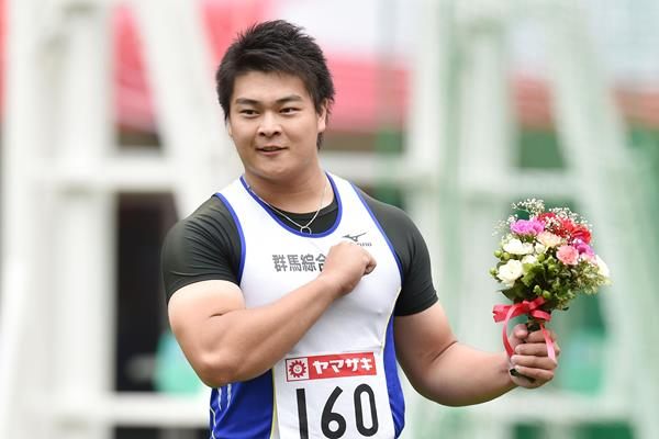 Japanese discus thrower Yuji Tsutsumi (Getty Images)