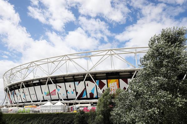 London Stadium on the eve of the IAAF World Championships London 2017 (Getty Images)