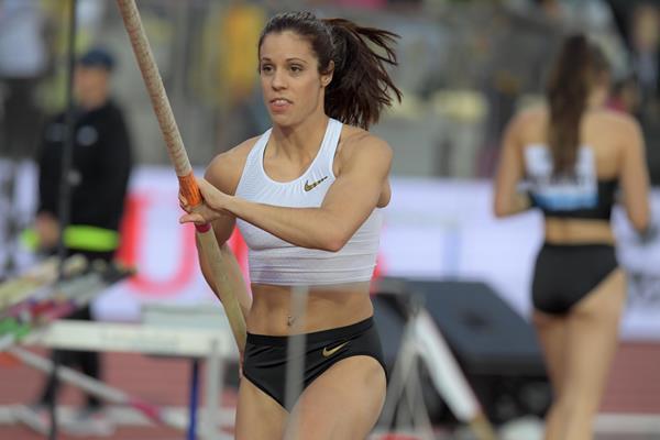 Katerina Stefanidi takes the win in Lausanne (Gladys Chai von der Laage)