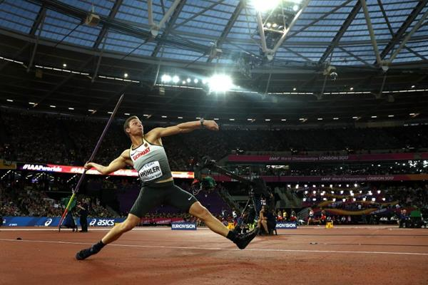 Thomas Rohler in the javelin at the IAAF World Championships London 2017 (Getty Images)