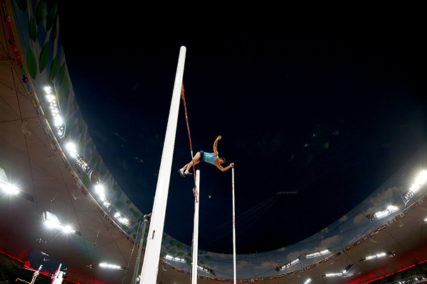 German Chiaraviglio in the pole vault at the IAAF World Championships Beijing 2015 (Getty Images)