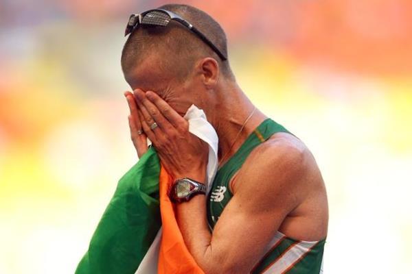 Robert Heffernan wins the men's 50km race walk at the IAAF World Championships Moscow 2013 (Getty Images)