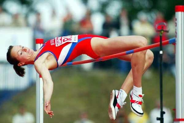 Yelena Slesarenko (RUS) - 2.04m High Jump - European Cup (Getty Images)