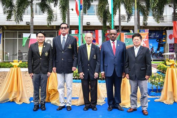Dignitaries join AAA President Dahlan Al Hamad at the opening of the new AAA headquarters in Bangkok (AAA)
