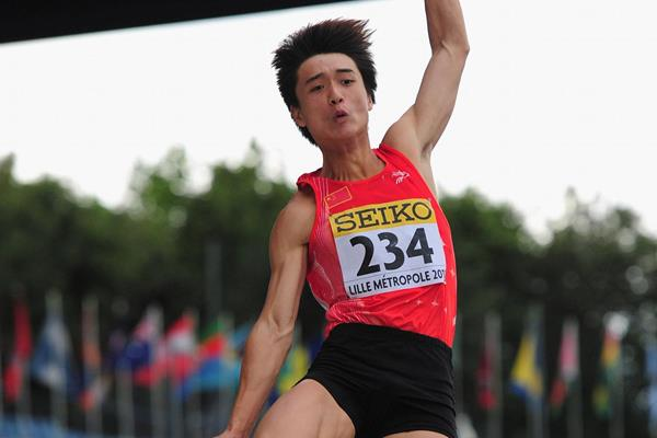Chinese long jumper Qing Lin (Getty Images)