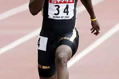Justin Gatlin powers to 9.95 second win in Osaka (Getty Images)