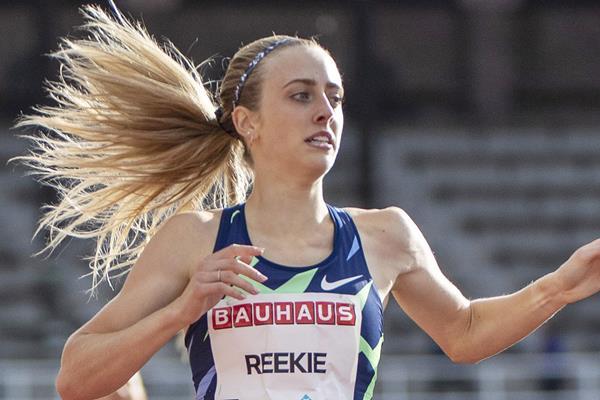 British middle-distance runner Jemma Reekie (Hasse Sjogren)