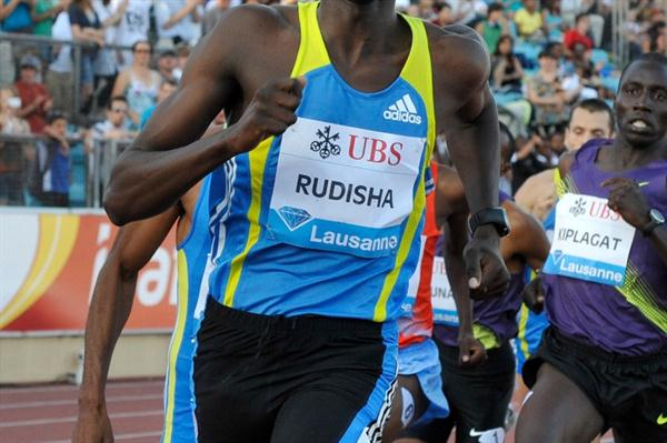 Another 2010 Samsung Diamond League 800m victory for David Rudisha, this time in Lausanne (Deca Text&Bild)