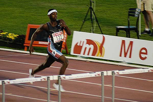 Bershawn Jackson wins 400 Hurdles in Madrid (IAAF)