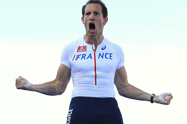 Renaud Lavillenie, winner of the pole vault at the European Team Championships (Jean-Pierre Durand)