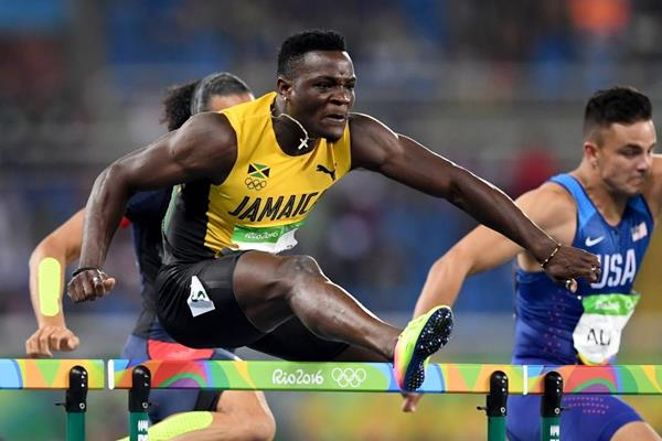 Omar McLeod at the Rio 2016 Olympic Games (Getty Images)