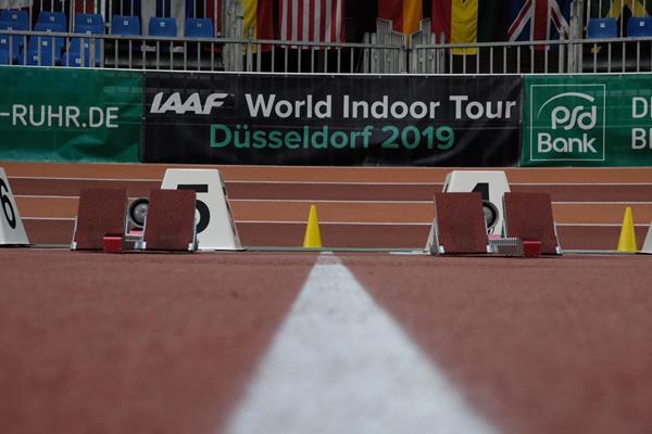 2019 World Indoor Tour meeting in Dusseldorf (Michelle Sammet)