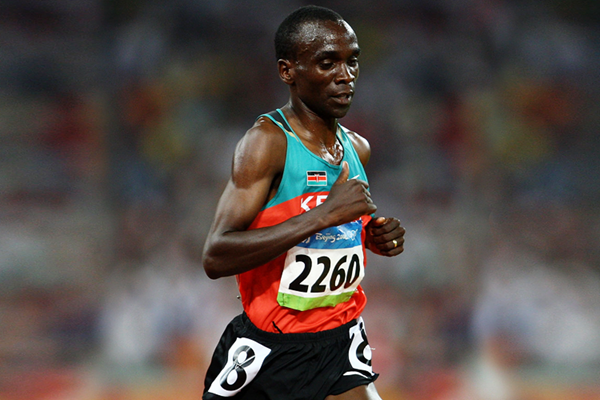 Kenya's Eliud Kipchoge in action at the Olympic Games (Getty Images)