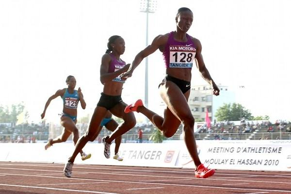 Another big win for Carmelita Jeter, this time in Tangiers (Tangiers organisers)