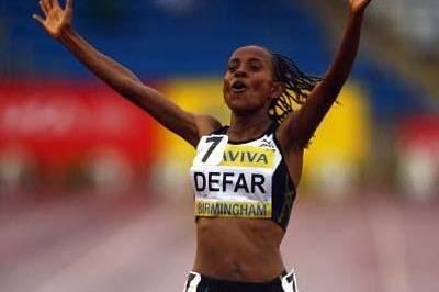 Meseret Defar goes sub-30mins for 10,000m in Birmingham (Getty Images)