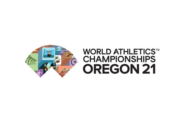 Logo for the World Athletics Championships Oregon21 (World Athletics)