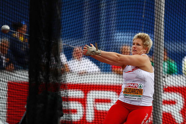 Anita Wlodarczyk, winner of the hammer at the European Championships (Getty Images)