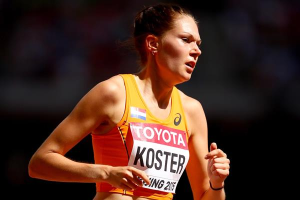 Dutch middle-distance runner Maureen Koster (Getty Images)