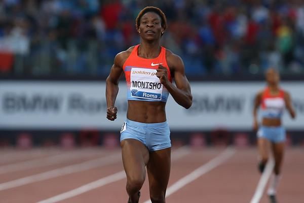 Amantle Montsho takes emphatic 400m victory in Rome (Giancarlo Colombo)