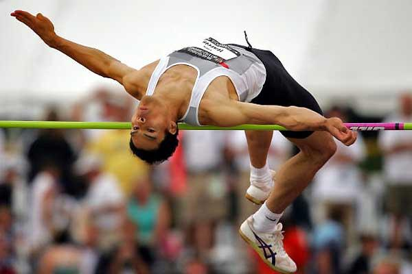 Tora Harris raises his PB to 2.33m - USATF Nationals (Getty Images)