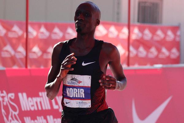 Wesley Korir, Chicago 2011 runner-up (Getty Images)